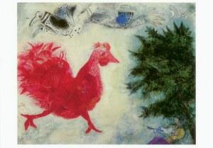 Roter Hahn Kunst der rote hahn 1940 chagall marc kunst postkarte und museum