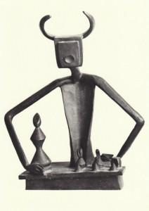 der k nig spielt mit seiner k nigin 1944 von ernst max kunst postkarte und museum shop. Black Bedroom Furniture Sets. Home Design Ideas