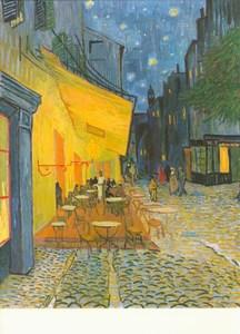 Das Nacht Cafe Kaffee Terrasse Am Abend Von Gogh Vincent Van Van